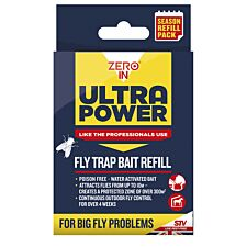 Zero In Ultimate Outdoor Fly Trap Refill - 6 x 8g