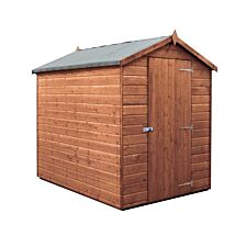 Mercia Premium Pressure Treated Shiplap Apex Shed - 7 x 5ft