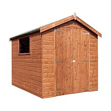 Mercia Premium Pressure Treated Shiplap Apex Shed - 8 x 6ft