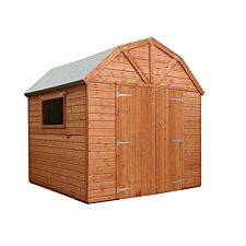 Mercia Pressure Treated Shiplap Dutch Barn - 8 x 8ft