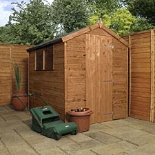 Mercia Pressure Treated Shiplap Apex Shed - 7 x 5ft