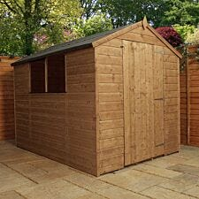 Mercia Pressure Treated Shiplap Apex Shed - 8 x 6ft