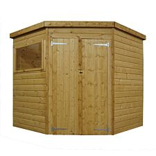 Mercia Shiplap Corner Shed - 7 x 7ft