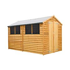 Mercia Overlap Apex Value Shed - 10 x 6ft
