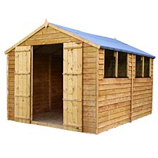 Mercia Overlap Apex Value Shed - 12 x 8ft