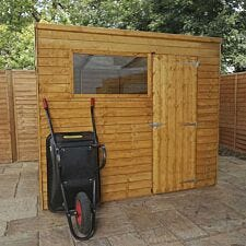 Mercia Overlap Pent Value Shed 8 x 6ft