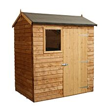 Mercia Overlap Reverse Apex Value Shed - 6 x 4ft