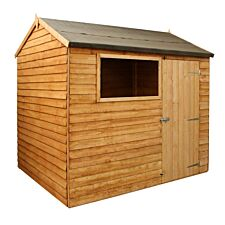 Mercia Overlap Reverse Apex Value Shed - 8 x 6ft