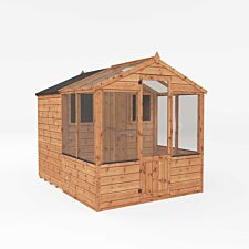 Mercia Apex Greenhouse/Shed Combi - 8 x 6ft