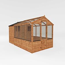 Mercia Apex Greenhouse/Shed Combi - 12 x 6ft