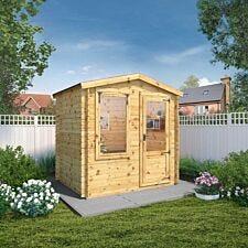 Mercia 19mm Log Cabin - 2.5 x 2m