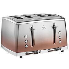 Russell Hobbs 25143 Eclipse 4–Slice Toaster – Copper Sunset