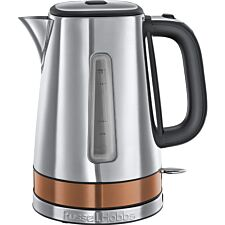 Russell Hobbs 24280 Luna Quiet Boil 1.7L Kettle – Silver & Copper