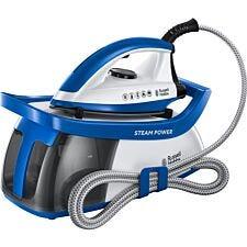 Russell Hobbs 24430 SteamPower Series 2 1.3L Steam Generator – Blue & White
