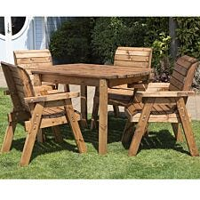 Charles Taylor Four Seater Rectangle Table Set