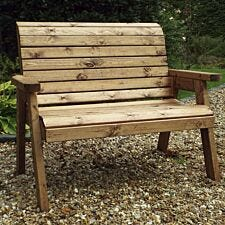 Charles Taylor Traditional Two Seater Bench