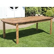 Charles Taylor Eight Seater Wooden Rectangle Table
