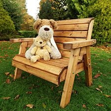 Charles Taylor Little Fellas Children's Traditional Wooden Bench