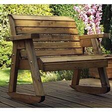 Charles Taylor Little Fella's Children's Wooden Bench Rocker