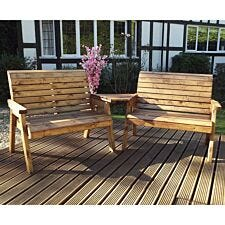 Charles Taylor Twin Bench Set Angled