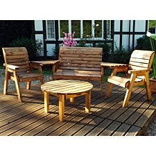 Charles Taylor Four Seater Multi Wooden Chair Set