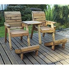 Charles Taylor Deluxe Lounger Set Straight