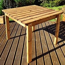 Charles Taylor Two Seater Wooden Square Table