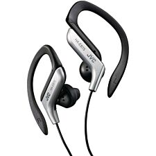 JVC Sports Ear Clip Earphones with Adjustable Clip - Silver