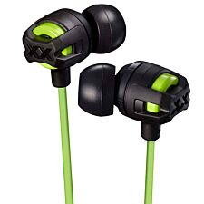 JVC Xtreme Xplosives In Ear Headphones with Mic & Remote - Green