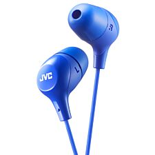 JVC Marshmallow Custom Fit In-Ear Headphones - Blue