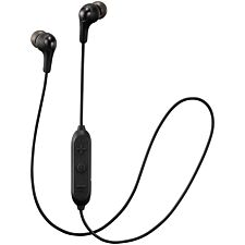 JVC Gumy Wireless Bluetooth In Ear Headphones - Black