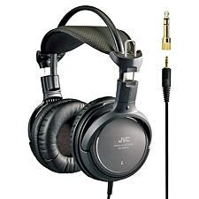 JVC Full-Size Premium Stereo Headphones - Black