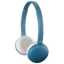 JVC Flats Wireless Bluetooth Headphones - Blue