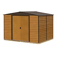 Rowlinson 10 x 12 Woodvale Metal Apex Shed With Floor