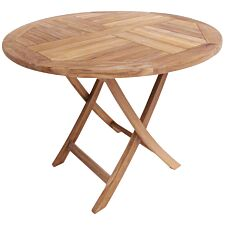 Charles Bentley Teak Small Round Table