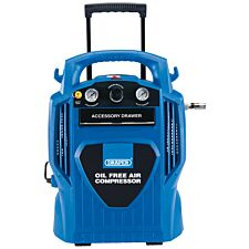 Draper 6L Oil-Free Air Compressor (1.2kW)