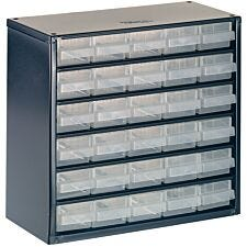 Raaco 624-01 Metal Cabinet 24 Drawer