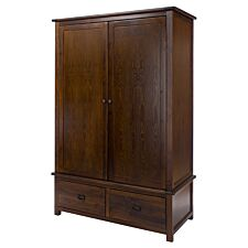 Tilsbry 2 Door 2 Drawer Wardrobe