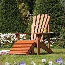 Rowlinson Hardwood Adirondack Chair