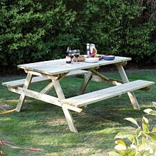 Rowlinson 6ft Picnic Bench