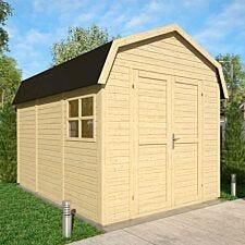 Rowlinson 11 x 8 Dutch Barn - Unpainted Natural