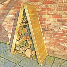 Shire Pressure-Treated Medium Triangular Overlap Log Store