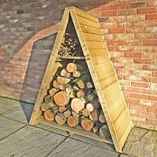 Shire Pressure-Treated Large Triangular Overlap Log Store