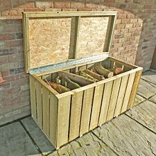 Shire Pressure-Treated Rough Log Box