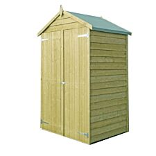 Shire Pressure-Treated Overlap 4 x 3 Shed