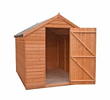 Shire Value Overlap Shed - 6ft x 8ft
