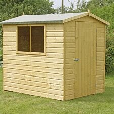 Shire Lewis Handmade Shed - 7ft x 5ft
