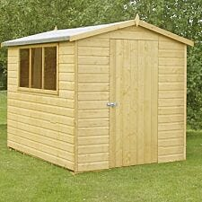 Shire Lewis Handmade Shed - 6ft x 8ft