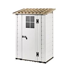 Shire Tuscany PVC Shed - 4ft x 2ft