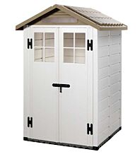 Shire Tuscany PVC Shed - 4ft x 4ft